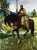 Artland Alte Meister Premium Wandbild Ferdinand Leeke