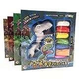 ALIKEEY Slime und Putty Spielzeuge DIY Schaffen Farbe Dinosaurier Slime Malerei Spielzeug Schnee Perle Schlamm Schaum Modelliermasse