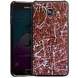 Samsung Galaxy A3 (2016) Housse Étui Protection Coque Rouille Egratignure Motif