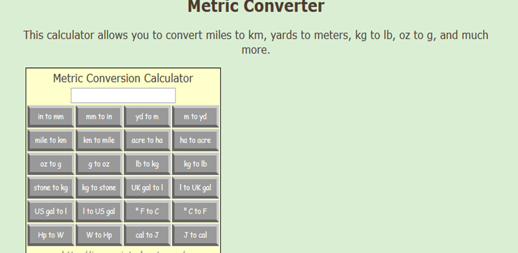 Metric Converter Calculator Amazon Appstore For Android