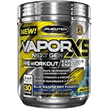 Vapor X5 Next Gen Pre-Workout 30 servings Framboise bleue