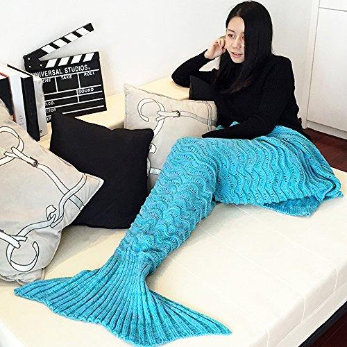 tonsee-mermaid-blanket-for-winter-blau