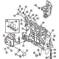 Guarnizione di Radiatore raffreddamento olio motore per