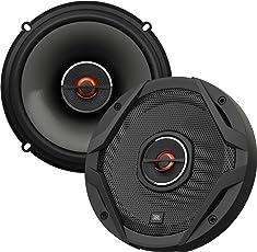 "JBL Auto GX602 Lautsprecher 180-Watt 2-Wege HiFi 6 - 1/2 ""165 MM (1 Paar), schwarz"