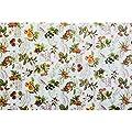 Wachstuch Wachstischdecke Tischdecke abwaschbar Beeren Weiß Rund 100cm von ANRO - Gartenmöbel von Du und Dein Garten