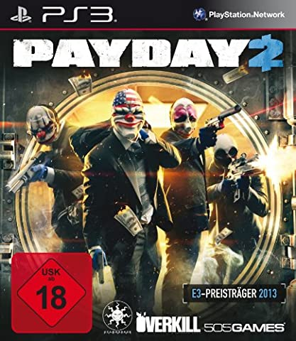 Pay Day Ps3 - Pay Day 2 [import