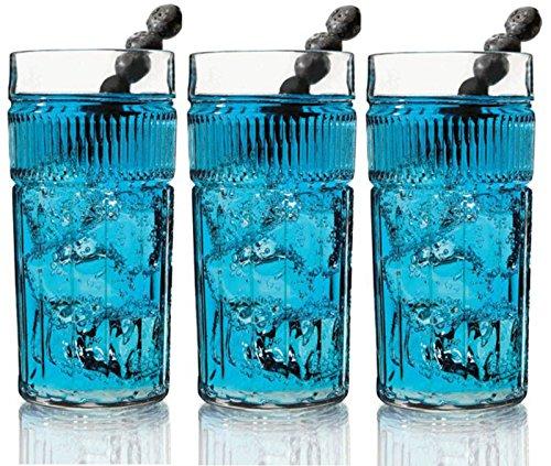 Anchor Hocking Annapolis Große Gläser Set von 6Hi Ball Trinkgläsern Hi-ball Glas Set