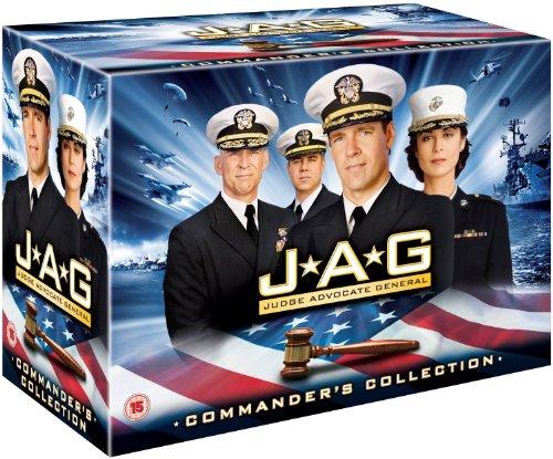 JAG - Im Auftrag der Ehre Komplettbox Staffel 1-10 / Season 1+2+3+4+5+6+7+8+9-10 [in Deutsch und Englisch] - 2 Komplett-box
