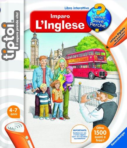 RAVENSBURGER - RAVENSBURGER Tiptoi imparo l'inglese libro