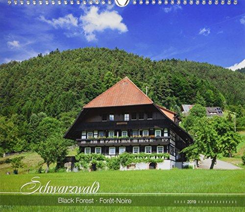 Schwarzwald 2019 - Black Forest - Bildkalender (33,5 x 29) - Landschaftskalender