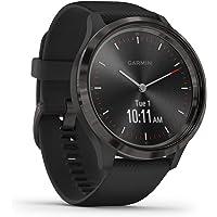 Garmin vívomove 3 – stilvolle Hybrid-Smartwatch mit analogen Zeigern & OLED-Display, Sport-Apps und Fitness…