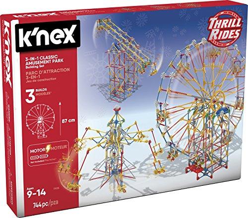 K 'NEX-Thrill Rides 3in 1Sehenswürdigkeiten, 744Teile (Spielzeugfabrik 41230Park)
