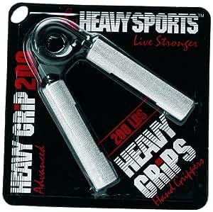 Heavy Grips HG150 Aluminium Gripper, Men's (Silver/Black)