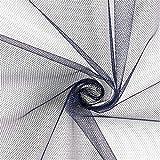 Fabulous Fabrics - Tüllstoff - Marineblau – Leichter,