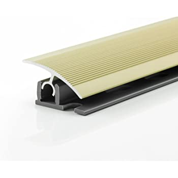 Aluminum Flooring Profile 900mm X 34mm Push And Click Montage Colour Sahara Diffe Colours Available