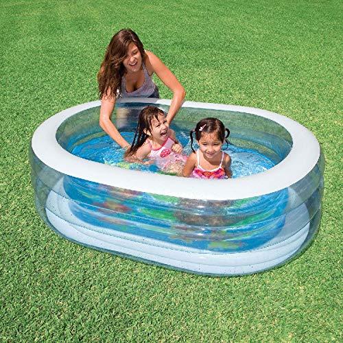 Planschbecken Badespaß Schwimmbad für Kleinkinder Pool Planschbecken Kinderpool...