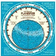 Planisfeer voor Nederland en Belgie: toont de sterrenhemel voor elk moment van het jaar (Planispheres in other languages)