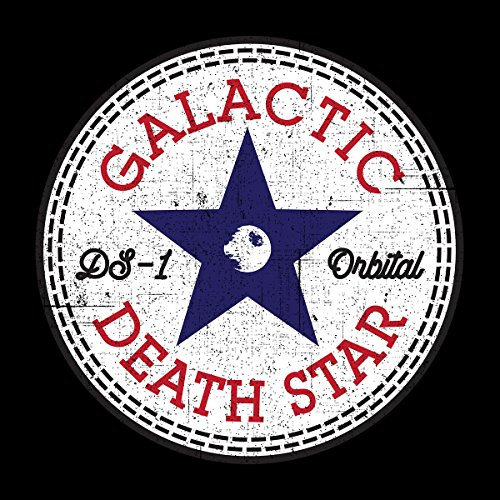 Star Wars Rogue One Death Star Converse Logo Women's Vest Black