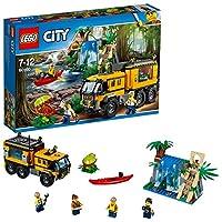 Controlla il terreno con attenzione mentre ti addentri nella giungla!Scopri i misteri della giungla di LEGO® City con il Laboratorio mobile, dotato di lati e tetto apribili, più una cascata con un coccodrillo e un tempio con una foglia mobile che nas...