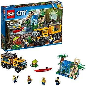 Lego City - Le laboratoire mobile de la jungle - 60160 - Jeu de Construction