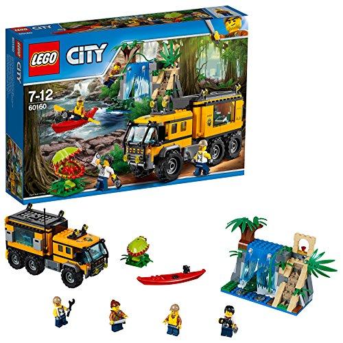dschungel lego LEGO City 60160 - Mobiles Dschungel-Labor