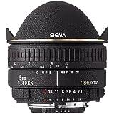 Sigma Fisheye 15mm f/2.8 EX DG Diagonal Fisheye for Minolta/Sony AF - Objetivo (0,15m, 180°, Negro, 7,35 cm, 6,5 cm, 370g)