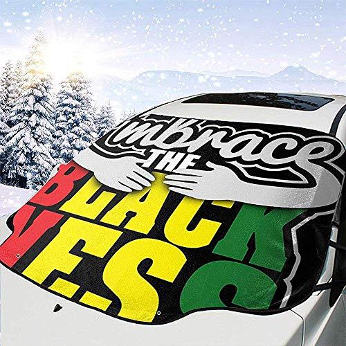 Tridge Umfassen Sie die Schwarze Ness-Auto-Windschutzscheiben-Schnee-Abdeckung für die wasserdichte Auto-Frontscheiben-EIS-Abdeckungs-Schutzfolie