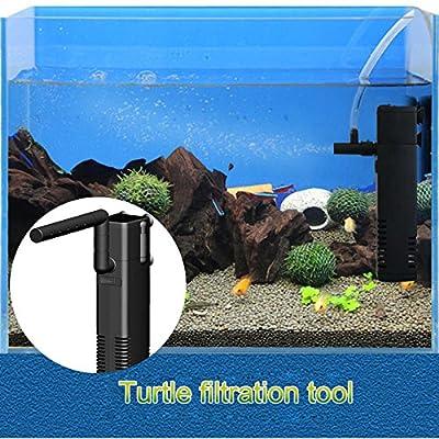 ROKOO Aquarium interne poisson tortue réservoir filtre pompe submersible Reptile grenouille bas niveau d'eau