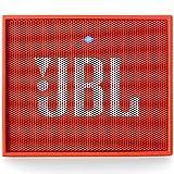 JBL Go Portable Wireless With Mic Bluetooth Speaker, Orange
