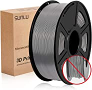 SUNLU 3D Printer Filament PLA+,PLA+ Filament 1.75 mm,Low Odor Dimensional Accuracy +/- 0.02 mm 3D Printing Filament,2.2 LBS (