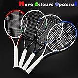 OPPUM Carbon Adult Tennis Racket Racquet(Blue)