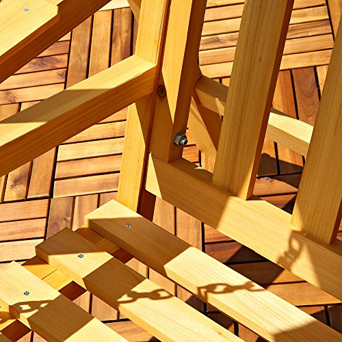 Holz Hollywoodschaukel Gartenschaukel
