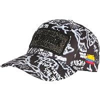 Casquette El Patron Noire et Grise Strass Streetwear Colombia Medellin Baseball - Mixte