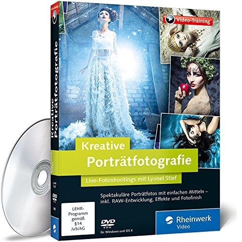 Kreative Porträtfotografie: Fotoshootings, Retusche und Bildlooks. Live am Set mit Lyonel Stief