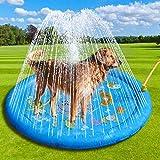Splash Sprinkler Pad Voor Dogs Kids, Hondenbad Zwembad Verdikt Duurzaam Bad Voor Honden Kinderen Zomer Buiten Water Speelgoed