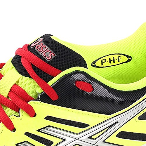Asics - Fastball gel jne handball - Chaussures handball - NEON YELLOW/SILVER/BLUE