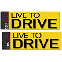 Team-BHP Live to Drive Sticker Set (2 Stickers)