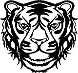 Marabu 028900007 - Silhouette-Schablone Wild Tiger, 30 x 30 cm