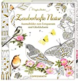 Ausmalbuch - Meine zauberhafte Natur: Meditative Ausmalbilder zum Glücklichsein