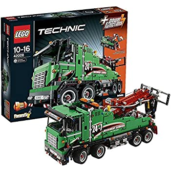 lego technic 42008 service truck toys games. Black Bedroom Furniture Sets. Home Design Ideas