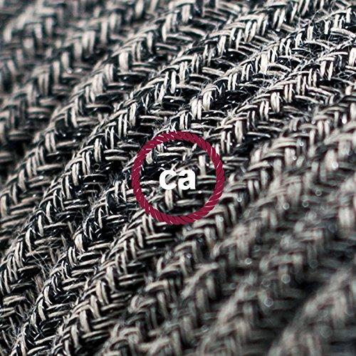 fil-electrique-rond-gaine-de-coton-de-couleur-onyx-tweed-noir-lin-naturel-et-finition-paillettes-rs8
