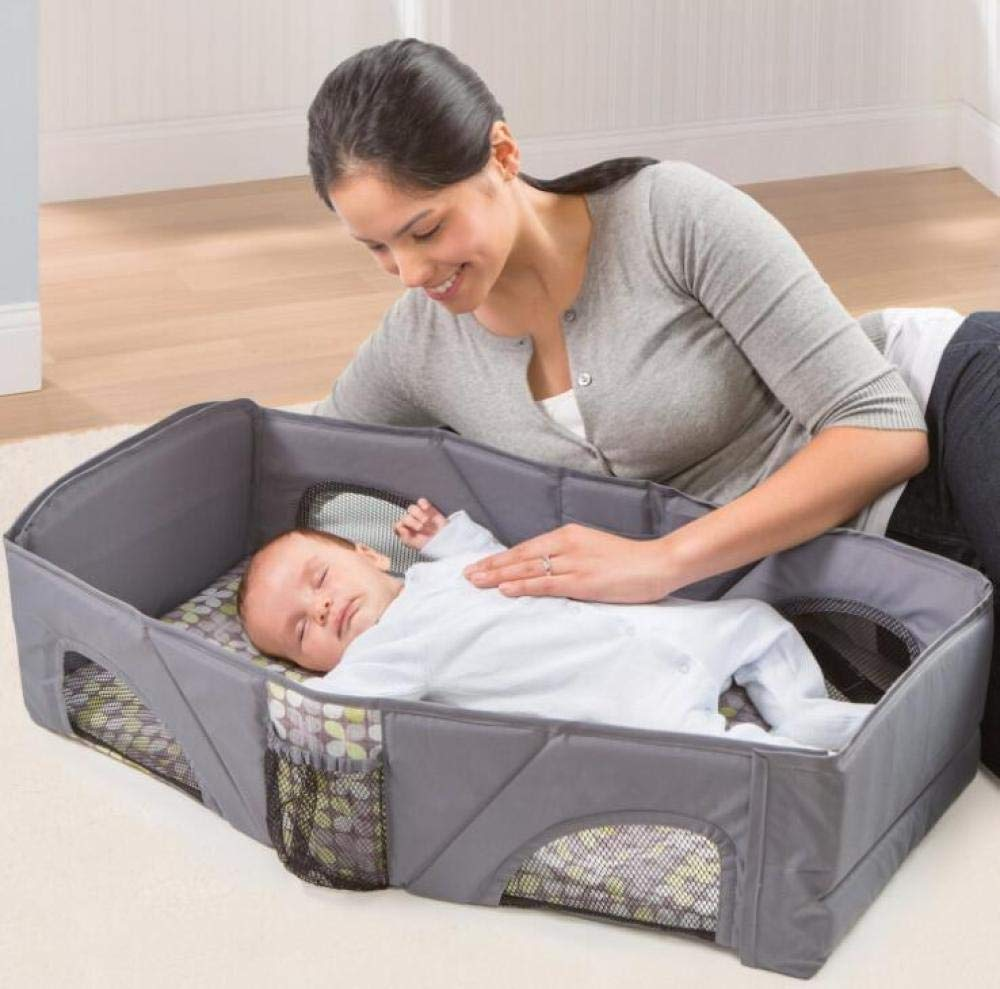 YANGGUANGBAOBEI Multifunctional Baby Nest,for Bed 100% Cotton Portable For Newborn - For Bedroom/Travel,Foam Mattress YANGGUANGBAOBEI ❤[SUPER SOFT AND BREATHABLE ] - Coalahola provides a cosy and safe environment for your baby and toddlers, features hypoallergenic and breathable 3D mesh fabrics, both base and and have been certified as fully air permeable, it naturally regulates baby's body heat and comply with CPSC standards. ❤[ MULTIFUNCTIONAL BABY NEST]- Designed to give your little one a serene, safe, and sound sleep in their lovely co sleeping crib, this newborn nest helps baby's spine growing healthily. ❤[INCREDIBLY PORTABLE AND EASY TO CLEAN] : our portable infant sleeper lounger is perfect for your travel needs, wherever you go - hotels, play dates, parks, and more! The bumpers and base are quickly unzipped, removed and washed separately. 2
