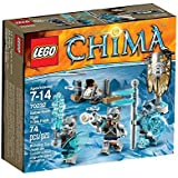 LEGO Legends Of Chima - Playthèmes - 70232 - Jeu De Construction - La Tribu Tigre À Dents De Sabre