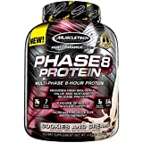 Muscletech Phase 8 Sustained Release Protein 4.5 Lbs (2.04Kg / 4.5lbs, Cookies and Cream)