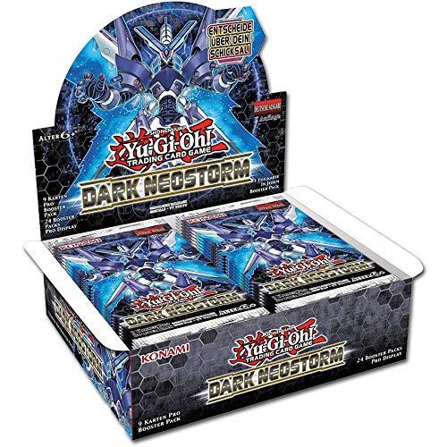 yvolve Yu-Gi-Oh! - Dark Neostorm - Booster / Display | Auswahl | DEUTSCH | Sammelkartenspiel TCG, Booster:24er (Display)