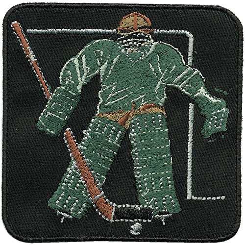 "AUFNÄHER ""Eishockey"" NEU Gr. ca. 7,5cm x 7,5cm (04656) Stick Patches Applikation"