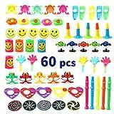 Amy & Benton assortiti accessori per buste regalo feste giocattolo per bambini, scuola Classroom Rewards, Carnival Prizes 60PCS