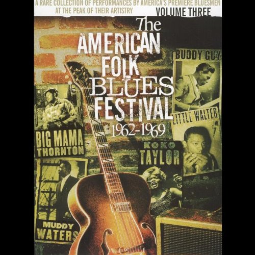 Various Artists - The American Folk Blues Festival, Volume 3 [Limited - American Folk Musik-dvd