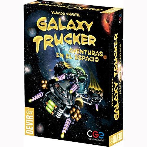 Devir BGHTRUCKER - Galaxy Trucker, Aventuras en el Espacio, Juego de Mesa