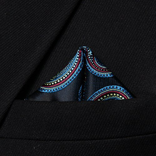 Hisdern - Mouchoir - Homme Burgundy/ Blue